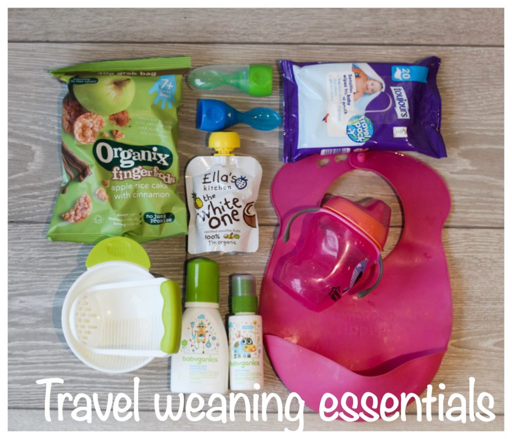 Weaning Baby, travel with baby