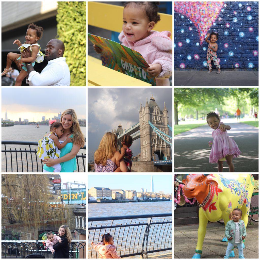 London mit Baby