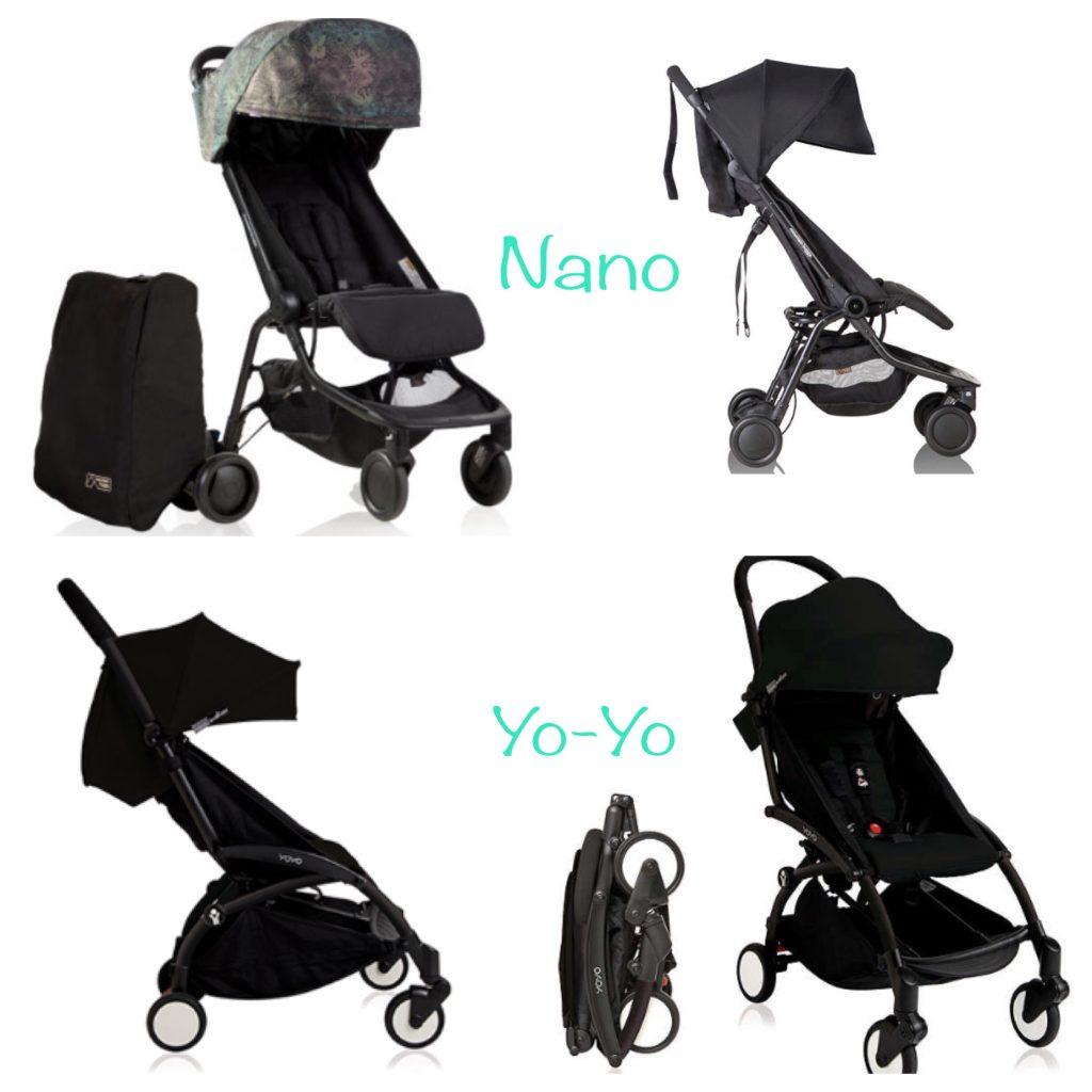 Pictures of Mountain Buggy Nano & Baby Zen Yo-Yo