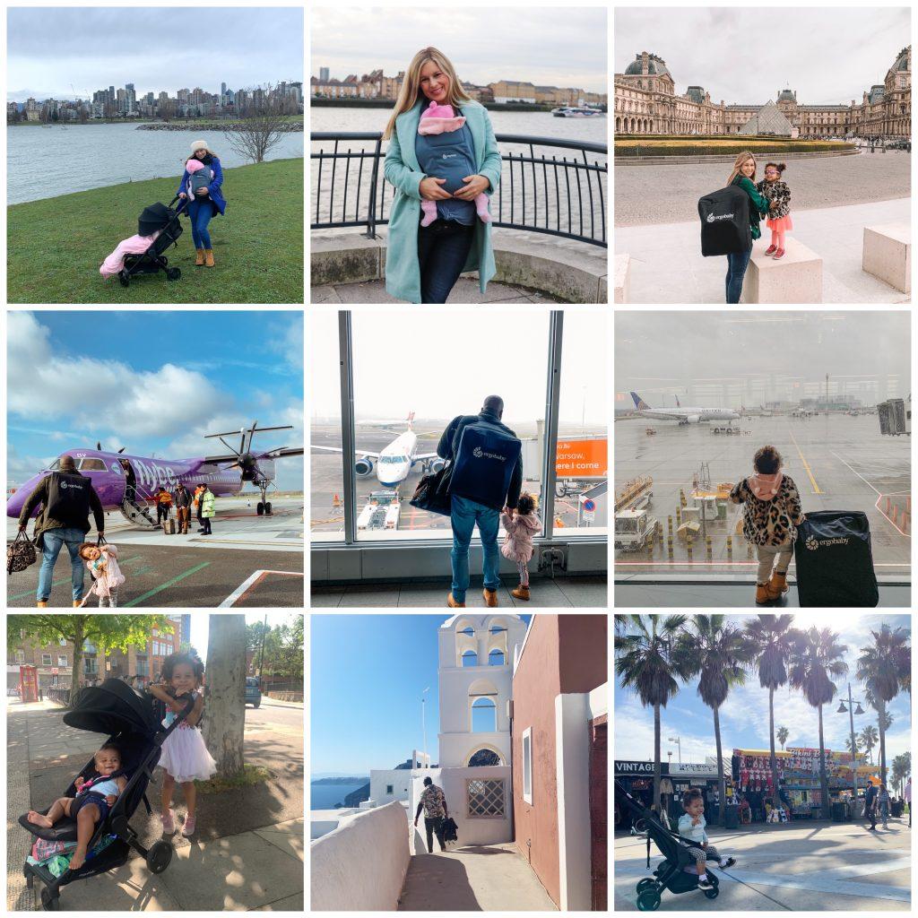 ergobaby metro, ergobaby embrace, baby carrier, travel stroller