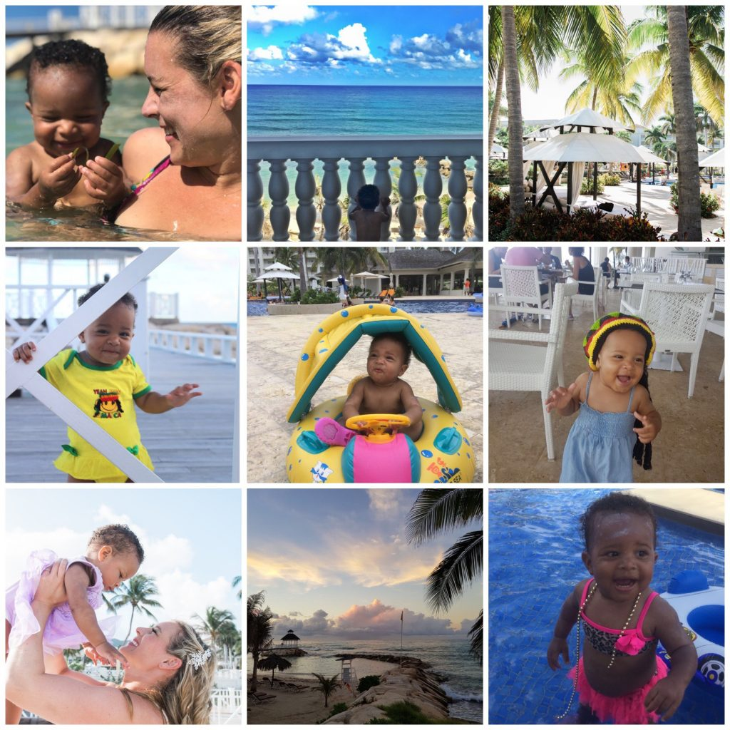 visit Jamaica, travel with babies
