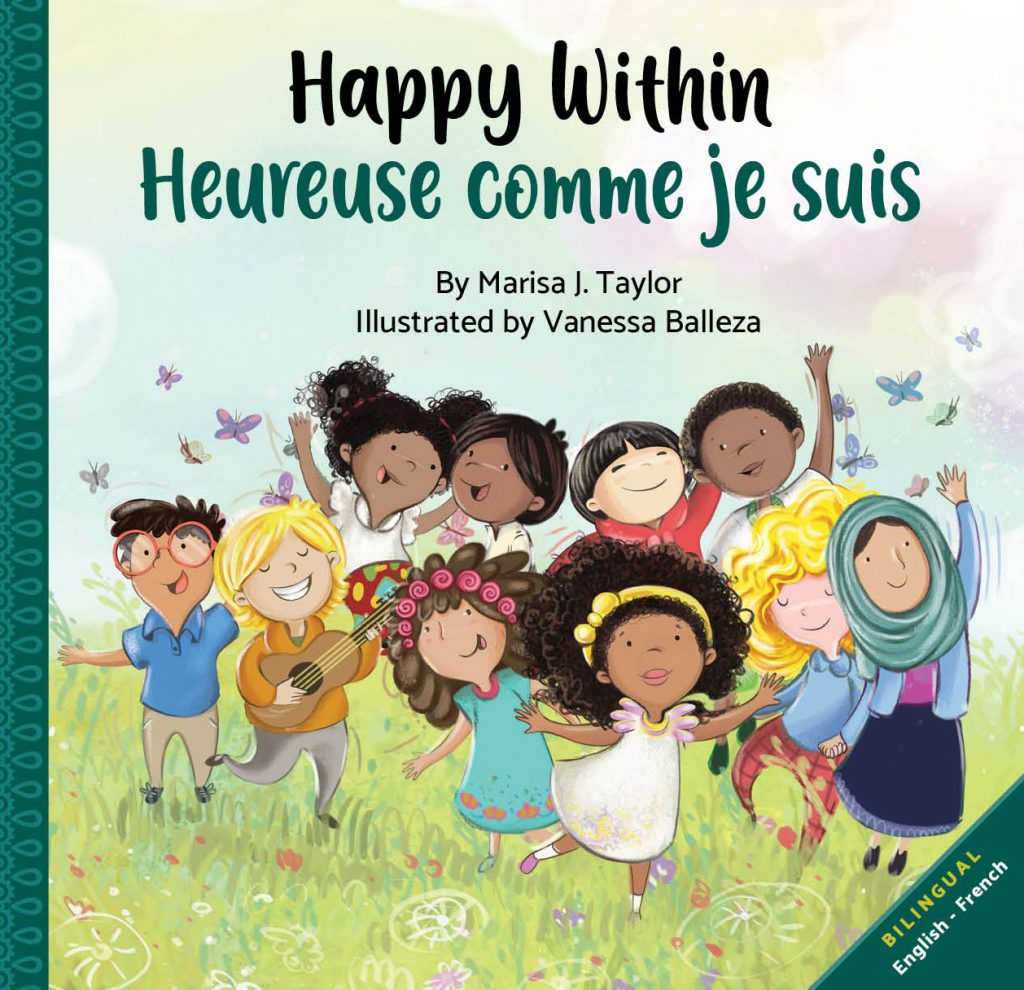 happy within book, bilingual books, bilingual kids books, diverse kids books