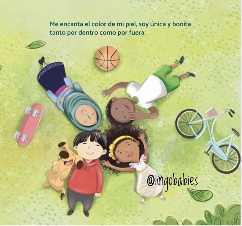 lingobabies, happy within book, libros biilingues, libros para niños, latinx para black lives, diverse books, libros españoles para niños