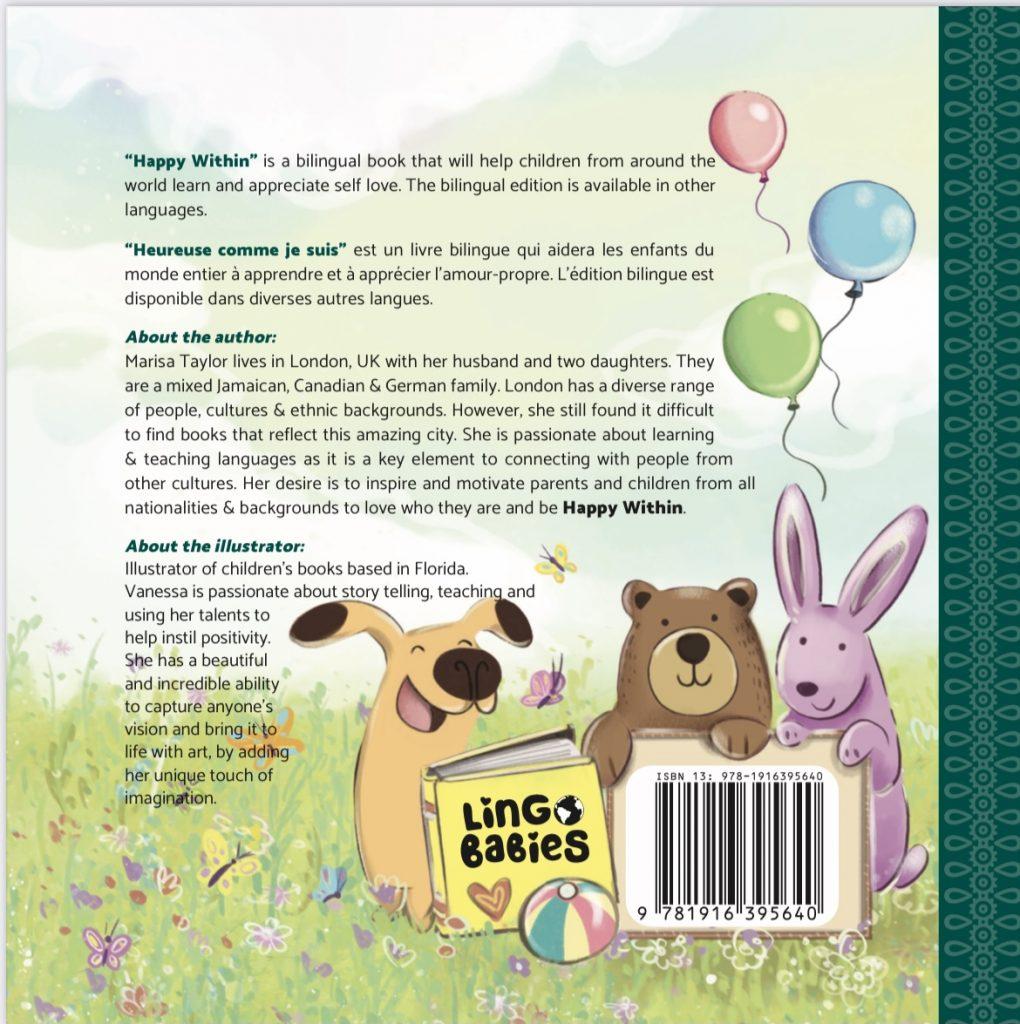 livre bilingue, l´amour propre, diversité culturelle, french immersion, learn french, French books for kids, bilingual English French, bilingual books